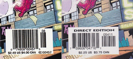 Amazing Spider-Man #495 Cover Price Comparison