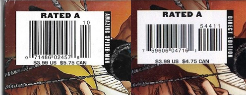 ASM #544: Canadians asked to pay $1 more for a newsstand copy than a direct edition copy.