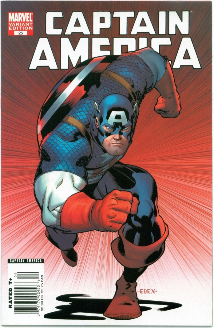 Captain America #25 Newsstand