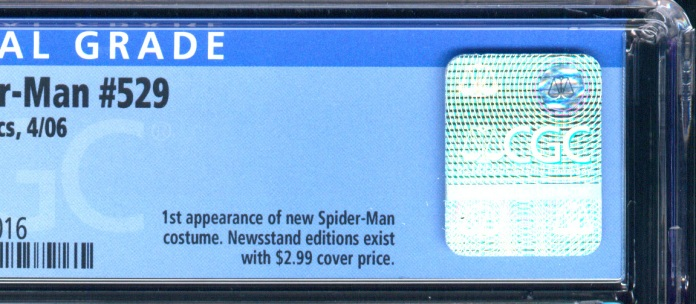 Prior CGC treatment was to lump together newsstand and direct edition copies by issue number, and then point out in the key comments note that newsstand editions exist with $2.99 cover price.