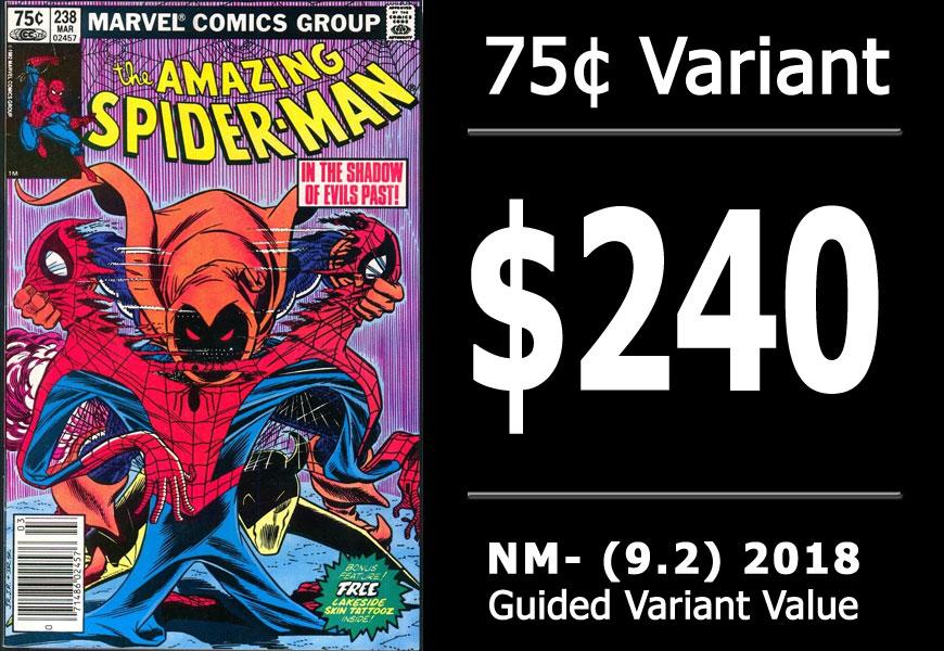 #1: Amazing Spider-Man #238