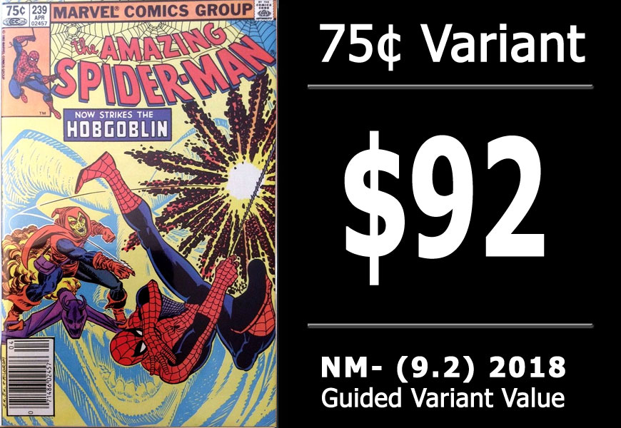 The 2018 Price Guide for 1980's Marvel & DC Newsstand Canadian Cover