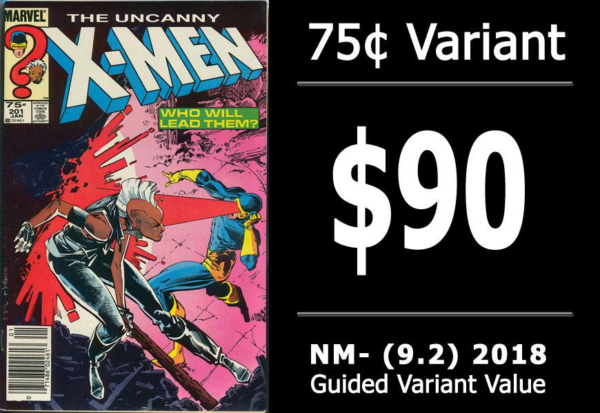 #20: Uncanny X-Men #201