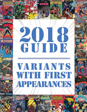 2018 Price Guide: First Appearances