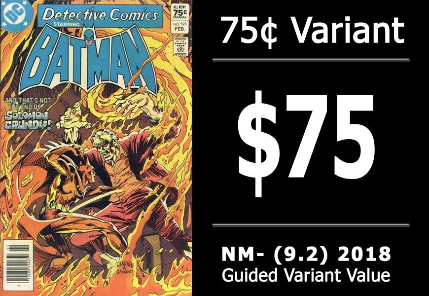 #25: Detective Comics #523