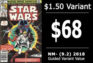 #31: Marvel Movie Showcase: Star Wars #1