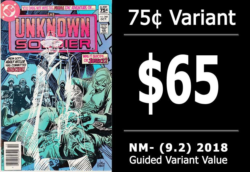 #37: Unknown Soldier #268