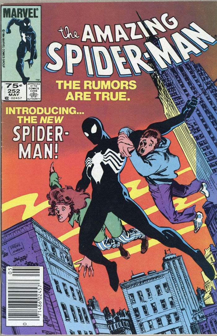 Amazing Spider-Man #252, Type 1A 75 Cent Cover Price Variant