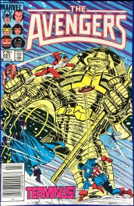 Avengers #257, Type 1A 75 Cent Cover Price Variant