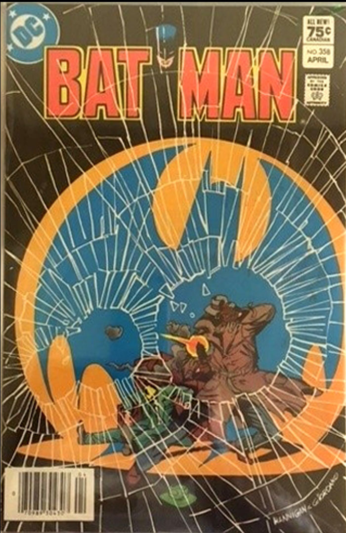 Batman #358, Type 1A 75 Cent Cover Price Variant