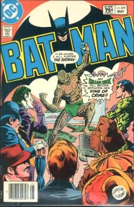 Batman #359, Type 1A 75 Cent Cover Price Variant
