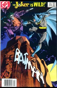 Batman #366, Type 1A 95 Cent Cover Price Variant