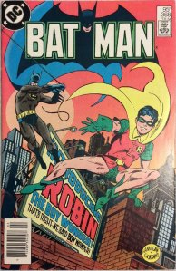 Batman #368, Type 1A 95 Cent Cover Price Variant