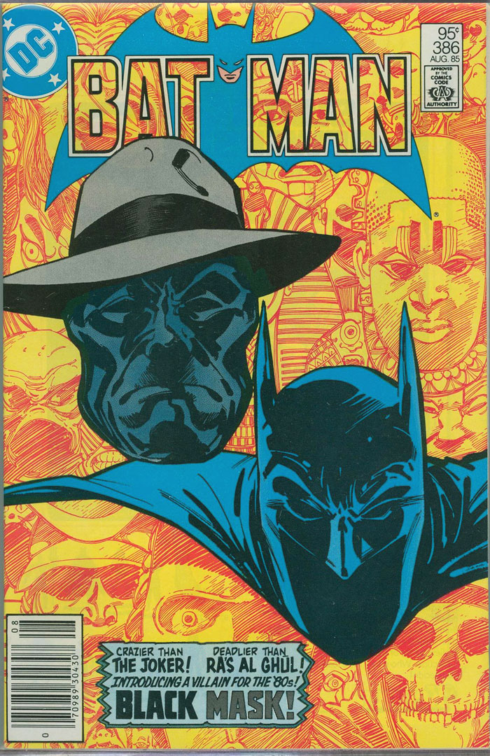 Batman #386, Type 1A 95 Cent Cover Price Variant