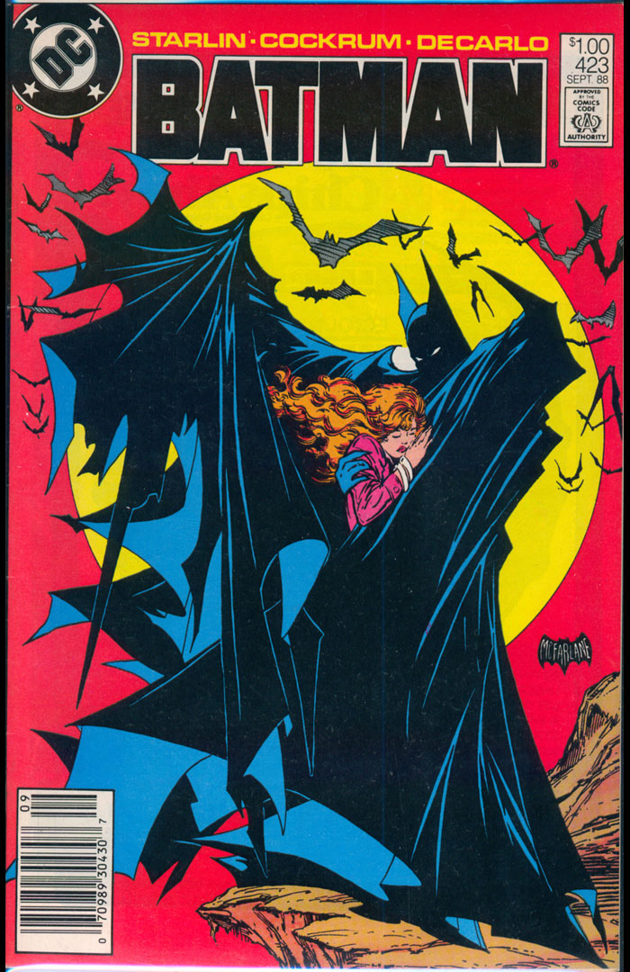 Batman #423, Type 1A $1.00 Cover Price Variant
