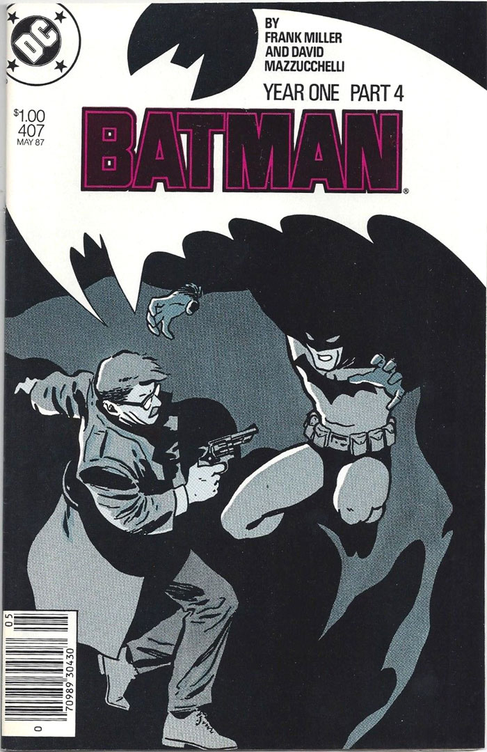 Batman #407, Type 1A $1.00 Cover Price Variant