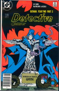 Detective Comics #577, Type 1A $1.00 Cover Price Variant