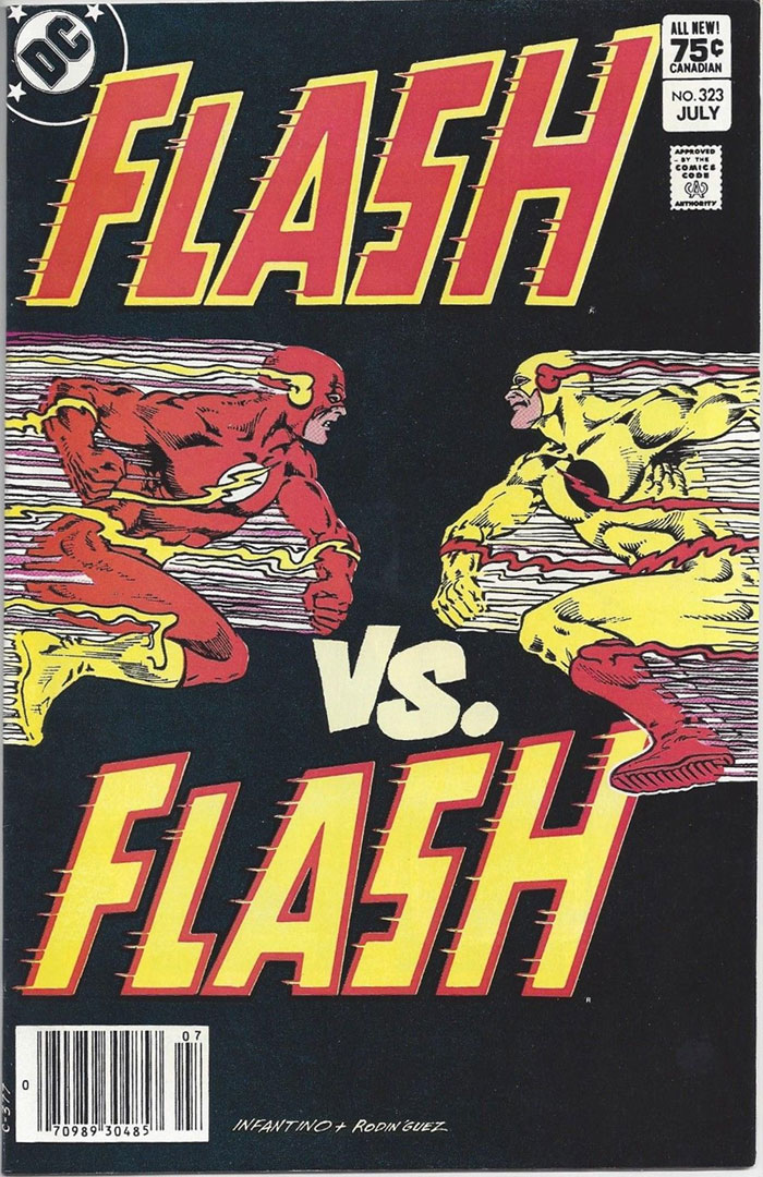 Flash #323, Type 1A 75 Cent Cover Price Variant
