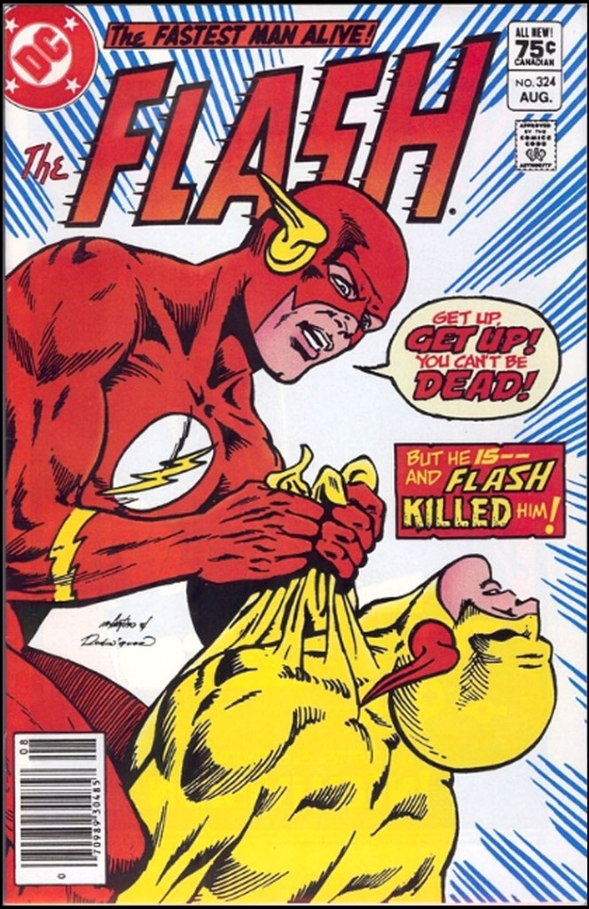 Flash #324, Type 1A 75 Cent Cover Price Variant