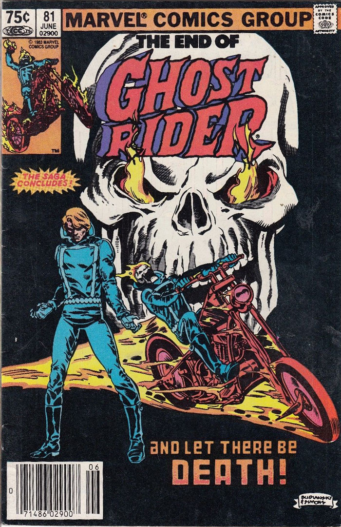 Ghost Rider #81, Type 1A 75 Cent Cover Price Variant