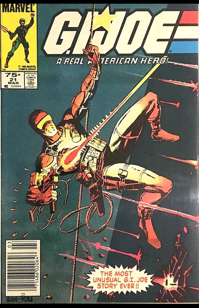 G.I. Joe #21, Type 1A 75 Cent Cover Price Variant