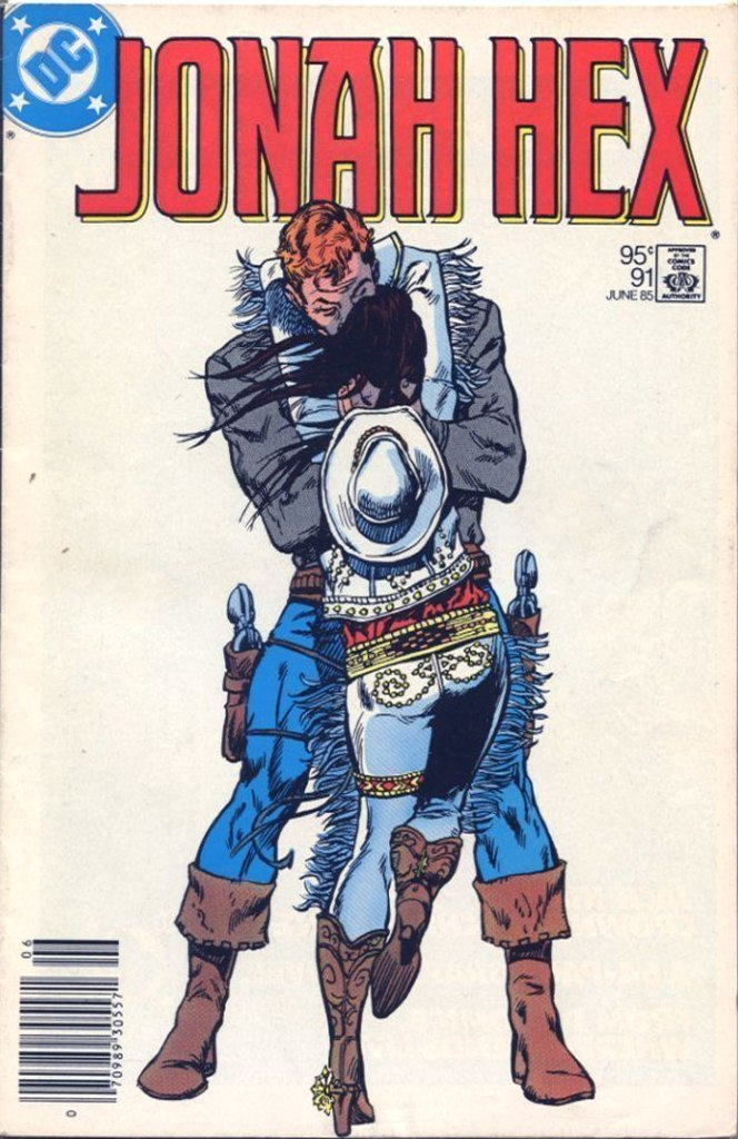 Jonah Hex #91, Type 1A 95 Cent Cover Price Variant