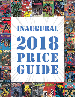 Inaugural 2018 Price Guide