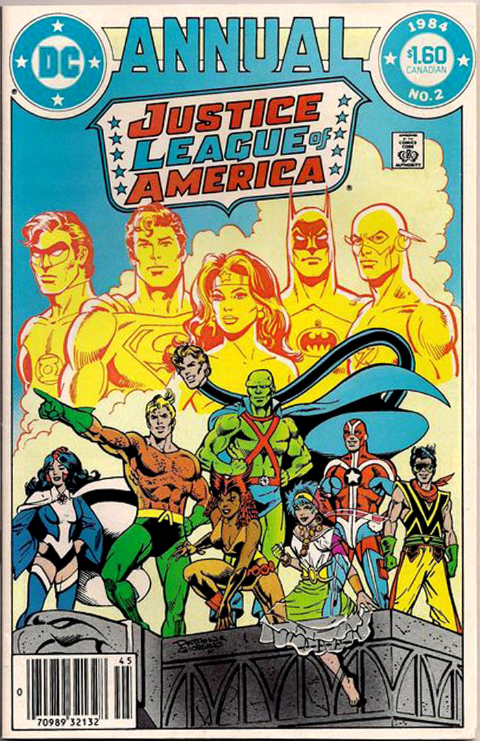 Justice League of America Annual #2, Type 1A $1.60 Cover Price Variant