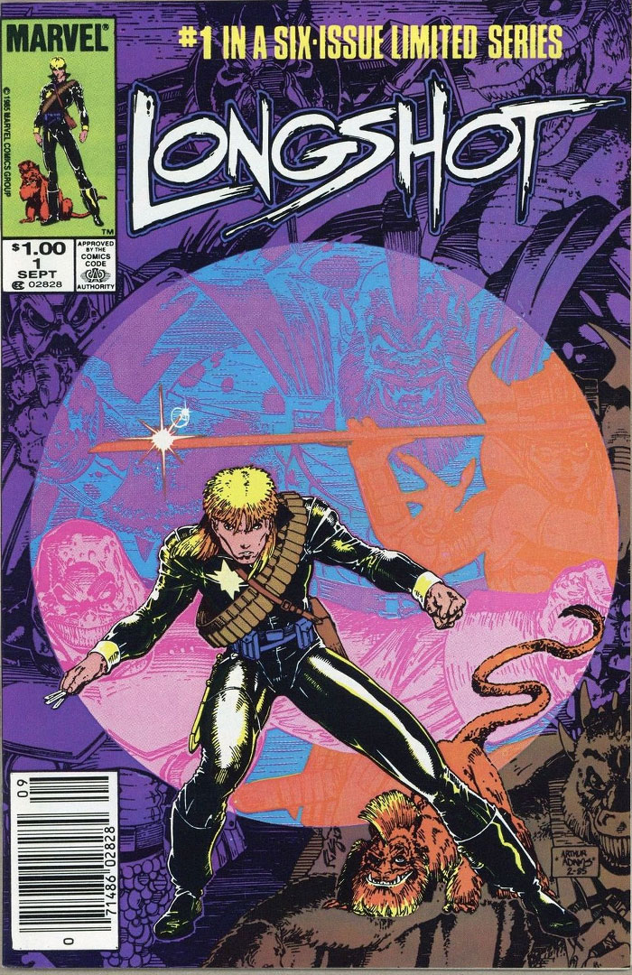 Longshot #1, Type 1A $1.00 Price Variant