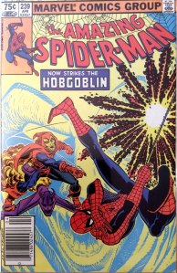 Amazing Spider-Man #239, Type 1A 75 Cent Cover Price Variant