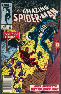 Amazing Spider-Man #265, Type 1A 75 Cent Cover Price Variant