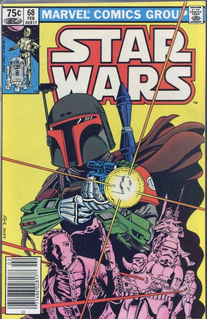 Star Wars #68, Type 1A 75 Cent Cover Price Variant