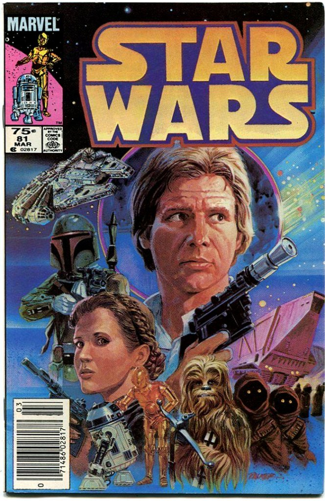 Star Wars #81, Type 1A 75 Cent Cover Price Variant