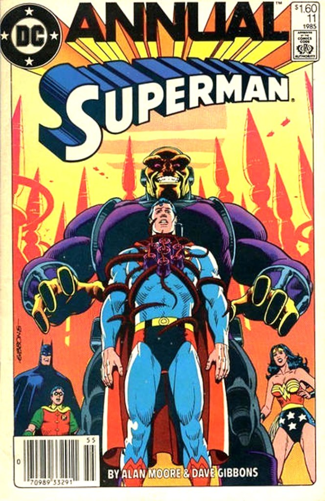 Superman Annual #11, Type 1A $1.60 Cover Price Variant