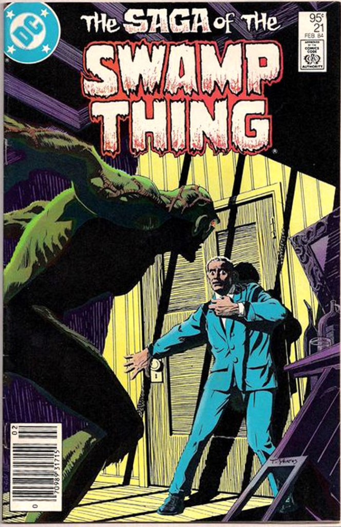 Saga of the Swamp Thing #21, Type 1A 95 Cent Cover Price Variant