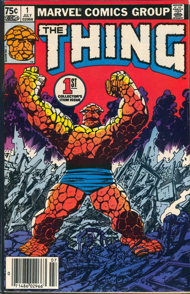 Thing #1, Type 1A 75 Cent Cover Price Variant