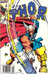 Thor #337, Type 1A 75 Cent Cover Price Variant