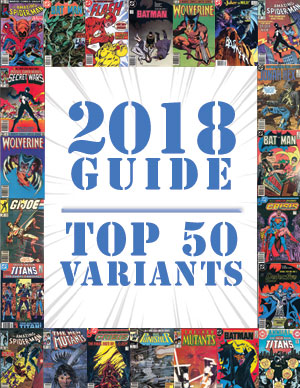 2018 Price Guide: Top 50 Variants