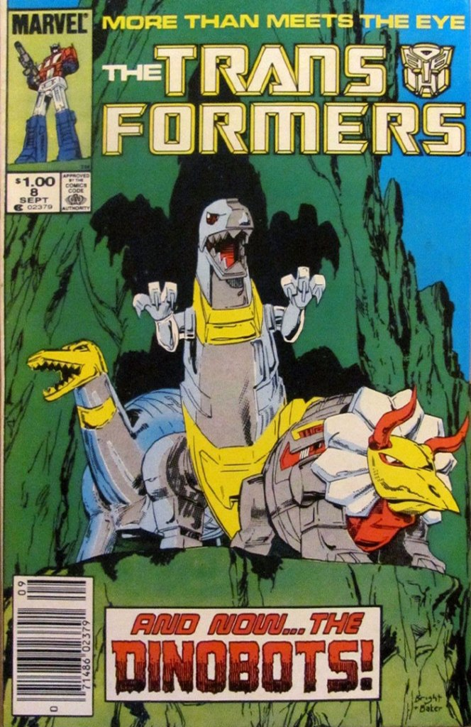 Transformers #8, Type 1A $1.00 Cover Price Variant