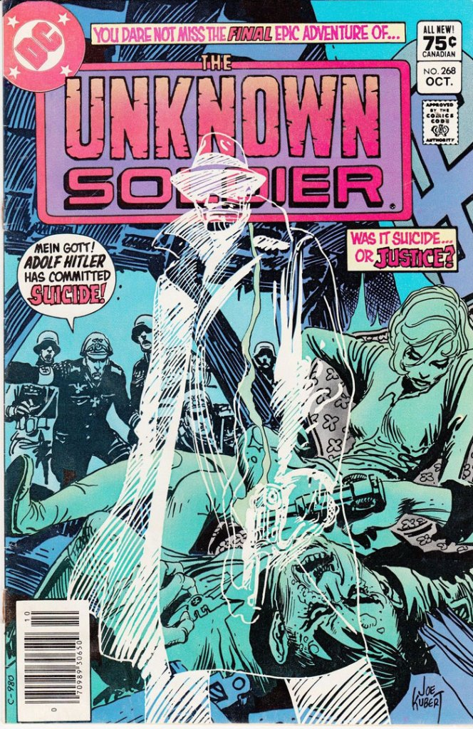 Unknown Soldier #268, Type 1A 75 Cent Cover Price Variant