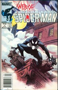 Web of Spider-Man #1, Type 1A 75 Cent Cover Price Variant