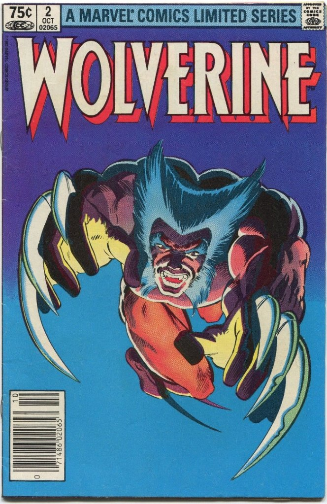 Wolverine Limited Series #2, Type 1A 75 Cent Cover Price Variant
