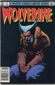 Wolverine Limited Series #3, Type 1A 75 Cent Cover Price Variant