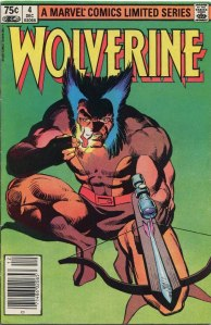 Wolverine Limited Series #4, Type 1A 75 Cent Cover Price Variant