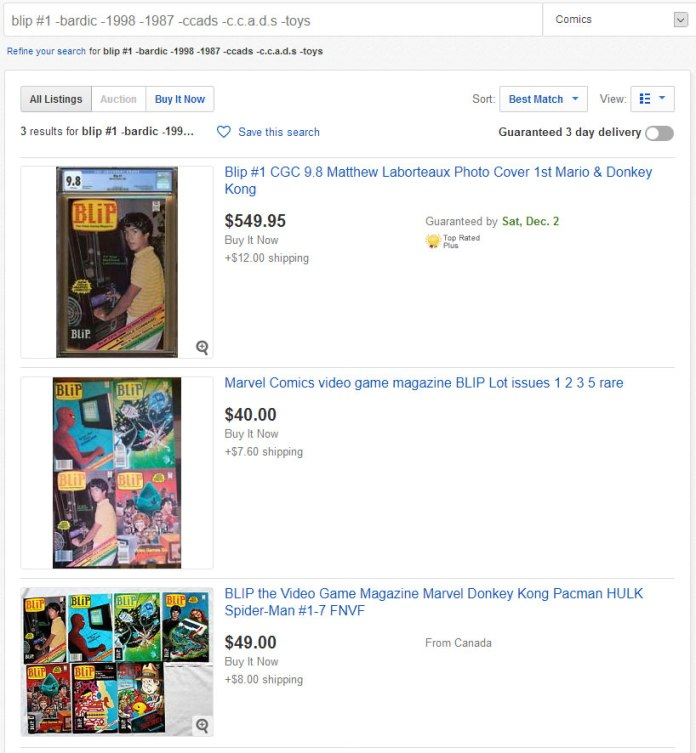 Both direct edition and newsstand copies appear on eBay... but something about the newsstand copies really surprised me!!
