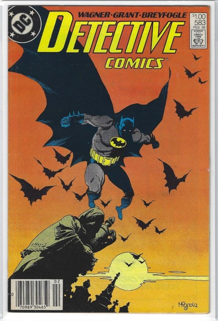 detective-583-Detective Comics #583, Canadian Price Variant Newsstand