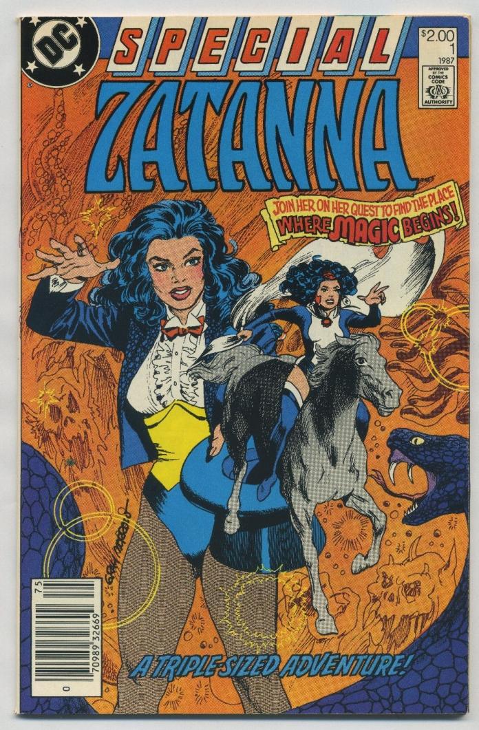 Zatanna Special #1 Newsstand