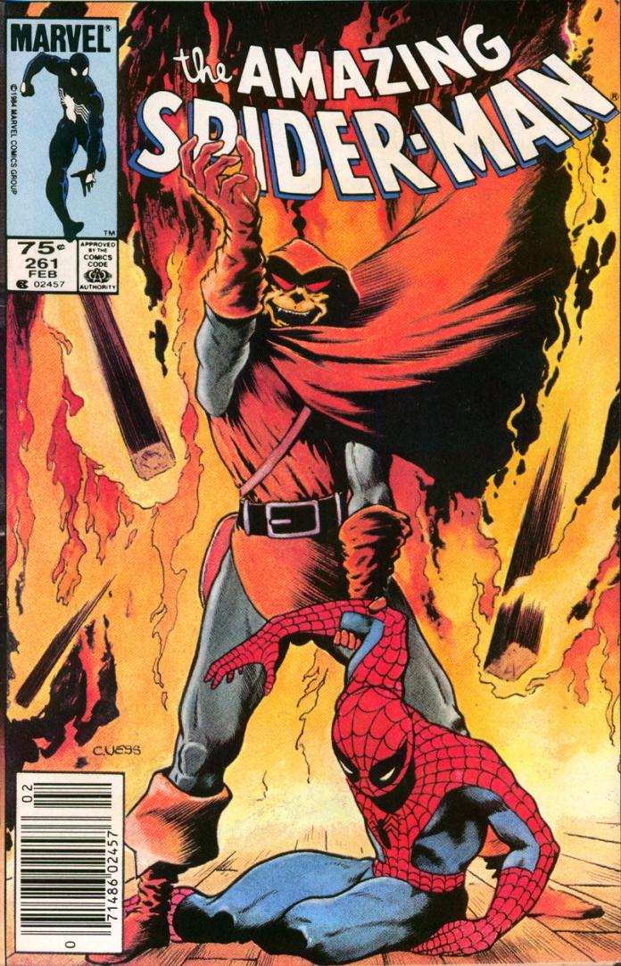 Amazing Spider-Man 261 -- 75 Cent Cover Price