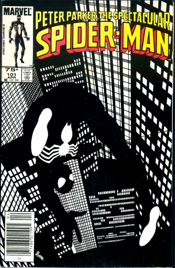 Spectacular Spider-Man #101, 75 Cent Cover Price
