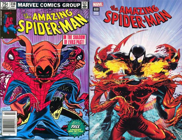 Amazing Spider-Man 238 Cover Swipe: Amazing Spider-Man 800